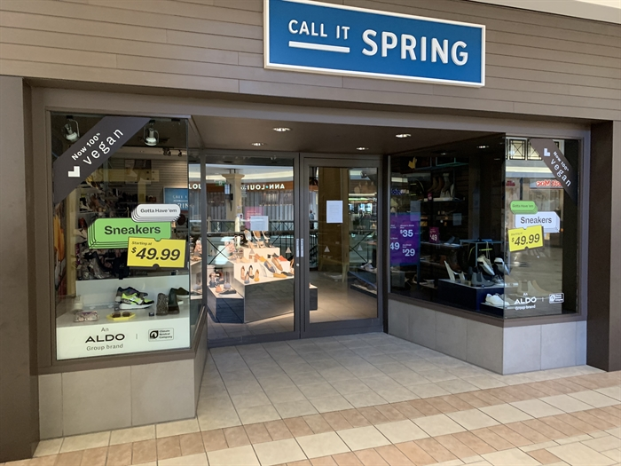 Call it Spring is owned by Aldo, and has yet to reopen in the Aberdeen Mall.