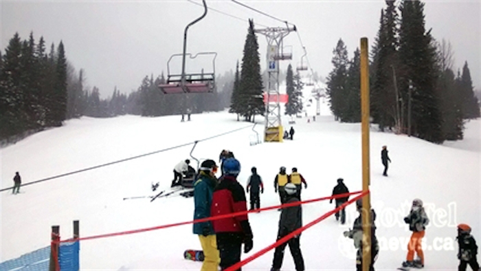 FILE PHOTO - The cable derailed on the chairlift at Crystal Mountain Resort injuring four people, two critically on Saturday, Mar. 1, 2014.