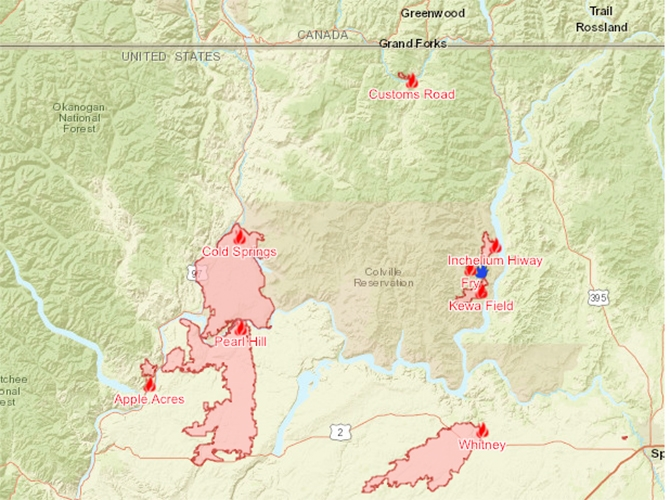 The Cold Springs, Whitney and Pearl Hill wildfires have been devastating to Washington State ranchers.