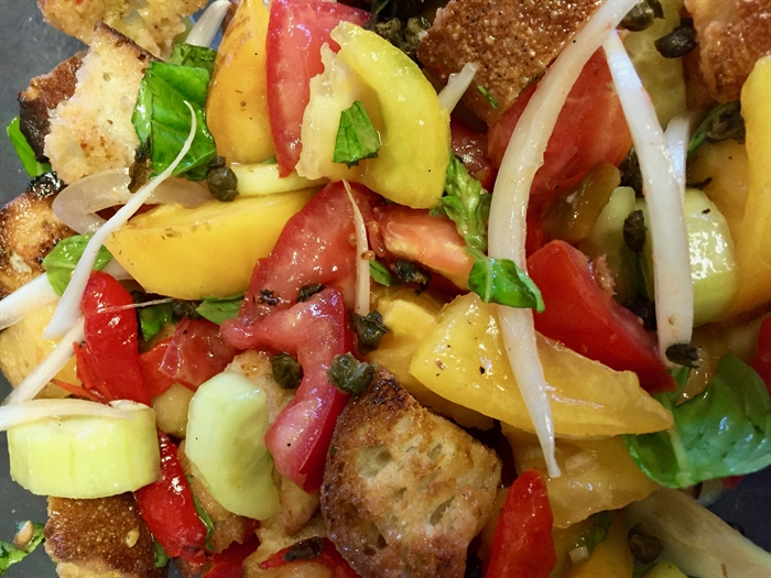 Panzanella is a delicious way to celebrate the harvest.