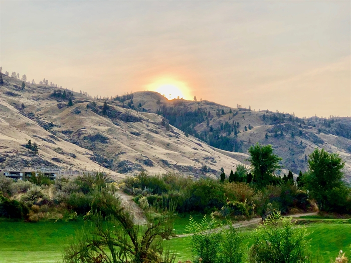 Mornings at Spirit Ridge are pure magic.