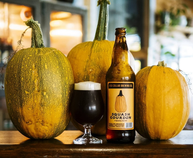 Red Collar's beer Squash Gordon is basically fall in a bottle.