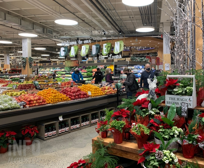 Fresh St. Market has all the basic elements of a typical grocery store, and then some.