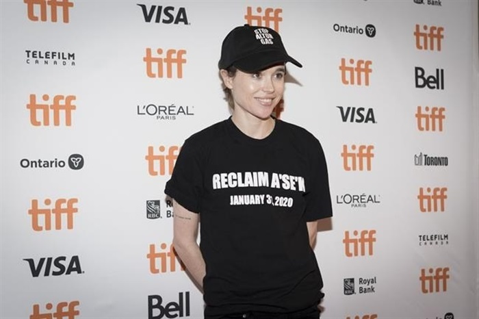Actor Elliot Page, Oscar-nominated star of 'Juno ...