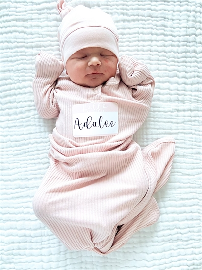 Adalee Romeo was the first baby to be born at the Royal Inland Hospital in Kamloops in 2021.