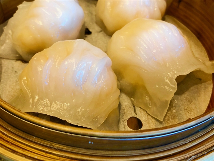 Har Gow (shrimp dumplings) are my fave!
