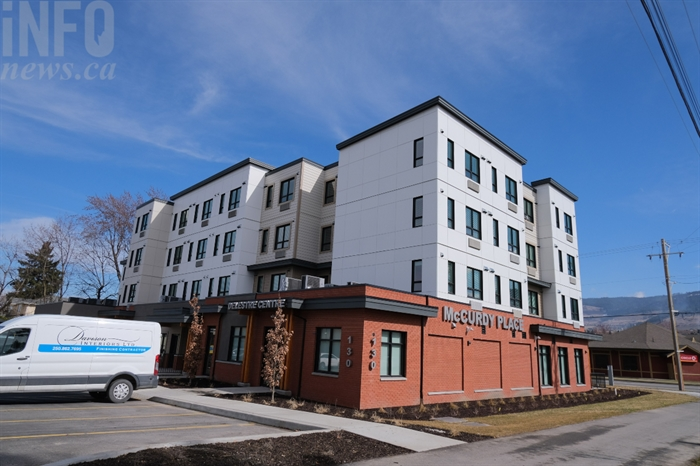 Two apartments are for sale in the McCurdy Place supportive housing building.