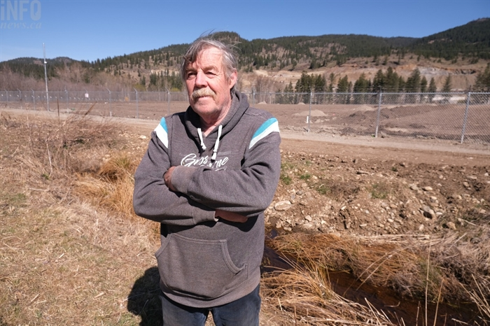Dave Young has been voicing environmental concerns regarding a cannabis property on Sawmill Road for years.