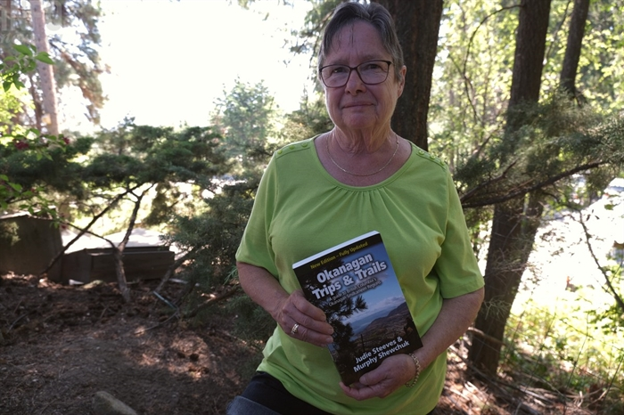 Judie Steeves, co-author of Okanagan Trips and Trails: A guide to British Columbia's Okanagan Similkameen Regions, is passionate about the outdoors.