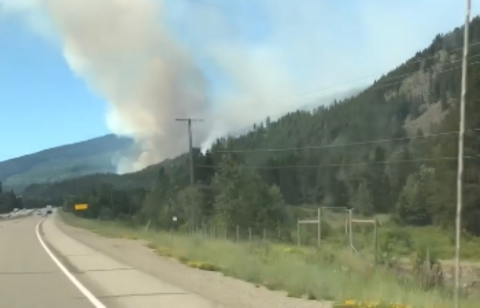 Wildfire burning near Coquihalla sees some growth