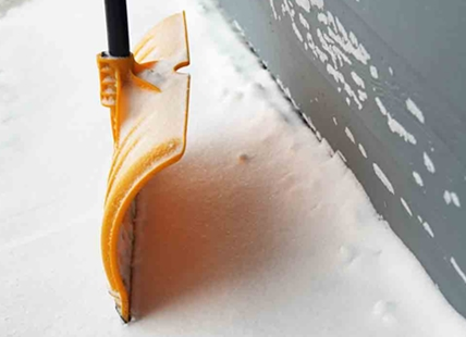 Don't put the shovels away just yet, more snow is expected by Friday morning.
