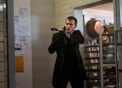 "In this image released by Paramount Pictures and Skydance Productions, Patrick Heusinger appears in a scene from, ""Jack Reacher: Never Go Back."""