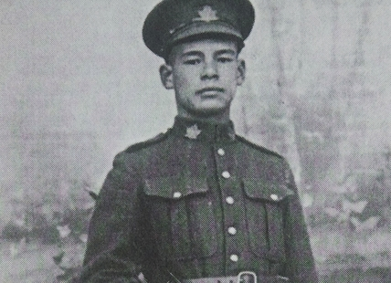 Frederick Lee was born in Kamloops and volunteered to fight in WWI.