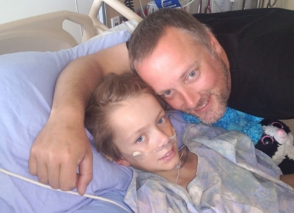 Chris Walton says his nine-year-old daughter Micaela is making a slow recovery at B.C. Children's Hospital in Vancouver. The young girl was airlifted by B.C. Ambulance after a suspected carbon monoxide poisoning at a Shuswap Campground that left her mother, Lucy Beaurain, dead over the May long weekend and left her in serious condition.