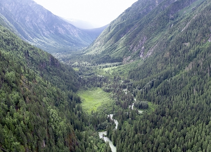 The Frisby Valley north of Revelstoke.