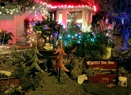 Rena Clare's home is decorated for various holidays every year, and she has never seen any theft or intentional damages.