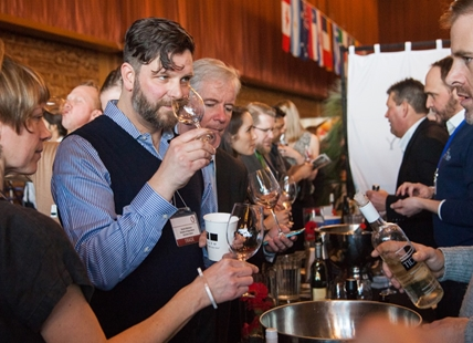 Vintners Brunch takes you on a tour of top restaurants and caterers, each one pairing a dish to a specific wine from around the world