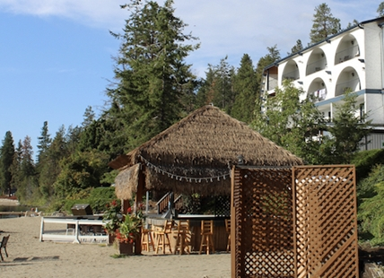 New life is being infused into the Tiki bar and other food services at Lake Okanagan Resort.