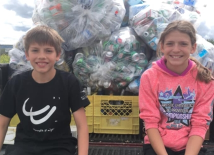 Dimitri and Gabrielle Armstrong have raised enough money to pay for a full month of food for the animals.