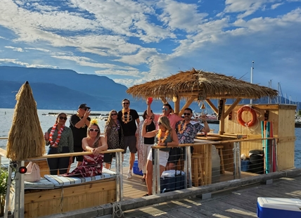 Sail away with Tiki Tours.