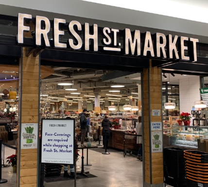 Fresh St. Market opened in Kamloops' Aberdeen Mall Nov. 22, 2020.