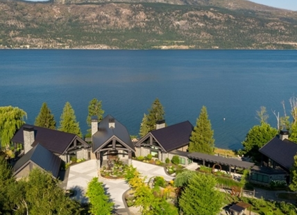 "This Lake Country ""Waterside Farm"" is for sale for $55 million."