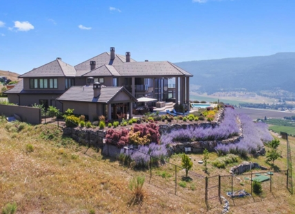 This Coldstream home is listed for sale at almost $15 million but assessed at only $6.6 million.