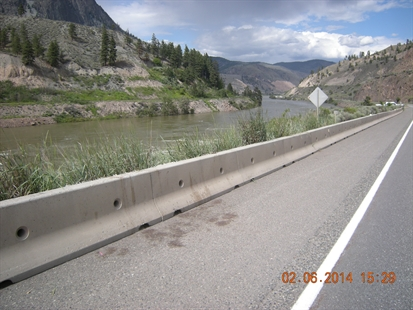 A cyclist riding in the Cache Creek 600 was shot overnight June 1, 2014 while riding near Spences Bridge.