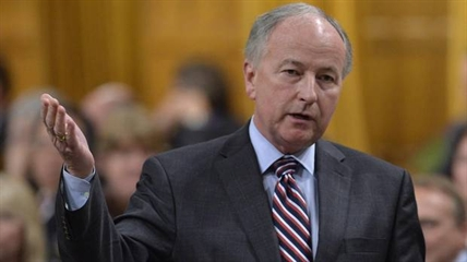Defence Minister Rob Nicholson answers a question during Question Period in the House of Commons in Ottawa on June 12.