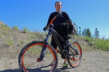 According to Cameron Model, mountain biking is a passion that has saved his life.