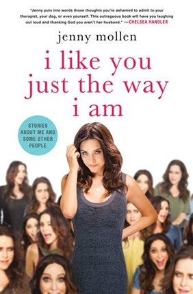 This photo provided by St. Martin's Press shows the cover of author, Jenny Mollen's book,