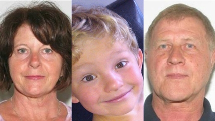 Nathan O'Brien and his grandparents Kathy and Alivin Liknes were last seen June 29, 2014 following an estate sale. The Liknes planned to move to Edmonton.