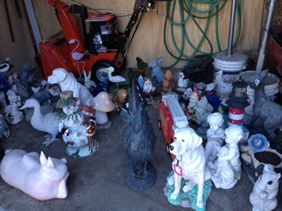 If you have had a lawn ornament recently stolen or recognize any of these statues, contact Brian Arnold at 250-819-1077.