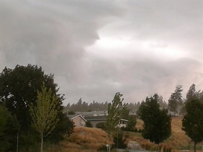 Strong storms moved through Kelowna just after 3:30 p.m. July 23, 2014.