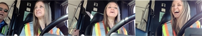 Jessica Wallace experiences a comedy of errors during her first time behind the wheel of a B.C. Transit city bus.