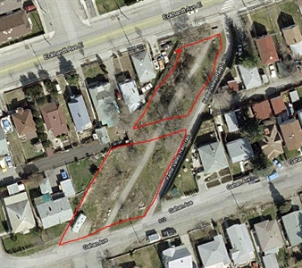 Residents told council no to development in the red outlined area between Eckhardt Avenue East and Gahan Avenue.