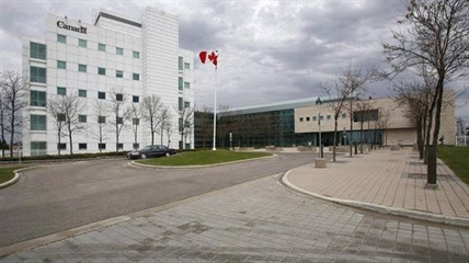 The National Microbiology Laboratory in Winnipeg is shown in a Tuesday, May 19, 2009 photo.