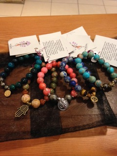 Bracelets stolen from an Osoyoos spa this week.