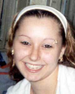 Picture of Amanda Berry as she looked ten years ago when she disappeared.