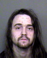 Waylon Faulhafer was wanted on two outstanding warrants for possession of stolen property