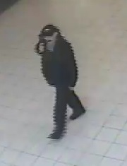 An image of the suspicious package suspect taken from security footage.