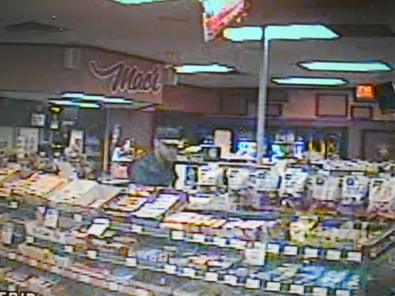 Suspect in a robbery at Mac's Convenience Store.