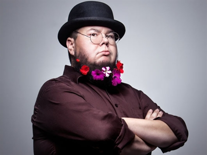 Shane Koyczan will performed at the THRiVE Festival Friday night.