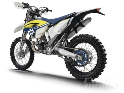 Harris's 2016 Husqvarna motorcycle was similar to this.