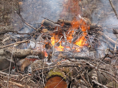 Category three open burn permits are being conducted now to reduce wildfire risk by clearing the forest floor of debris that could feed a wildfire.