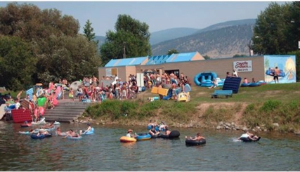 A lot of garbage ends up on the banks of the Penticton River Channel and somebody has to pay to clean it up.