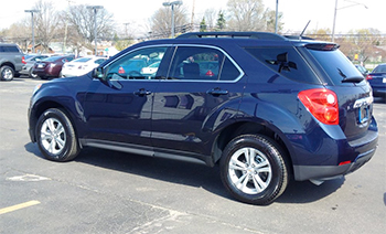 Missing person Guy Lyrette is believed to be driving a dark blue 2015 Chevrolet Equinox LT with Manitoba plate HHW775, similar to this one.
