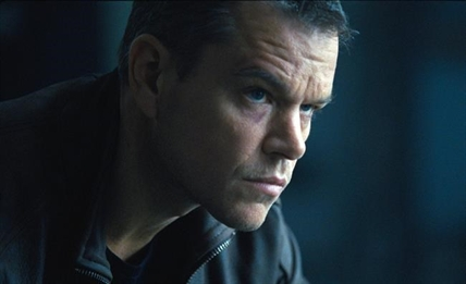 "In this image released by Universal Pictures, Matt Damon appears in a scene from ""Jason Bourne."""