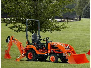 2013 Kubota, Model BX25D with bucket and loader.