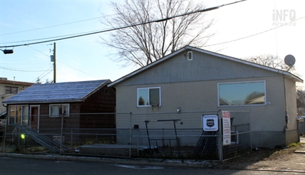 These two houses at 103 and 107 Yew St. were recently bought by the City of Kamloops and are slated to be knocked down before Christmas.